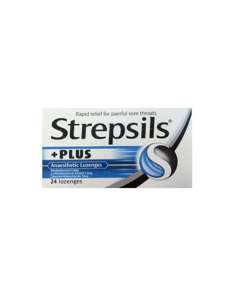 Strepsils Plus Anaesthetic Lozenges