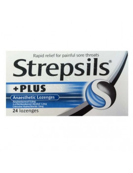 Strepsils Plus Anaesthetic Lozenges