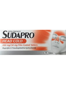 Sudapro Head Cold Tablets