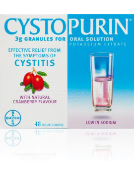 Cystopurin Granules For Oral Solution
