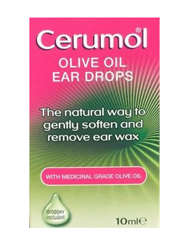 Cerumol Olive Oil Ear Drops