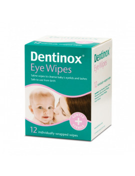 Dentinox eye wipes