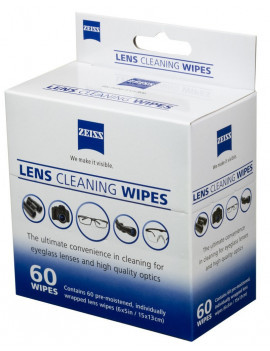 Lens Cleaning Wipes
