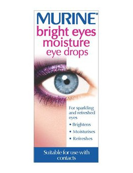 Murine bright eyes moisture eye drops
