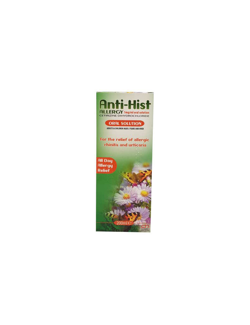 Anti-Hist Allergy Oral Solution