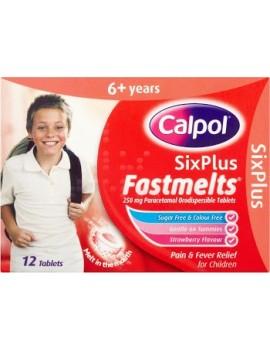 Calpol 6+ Fastmelts 12