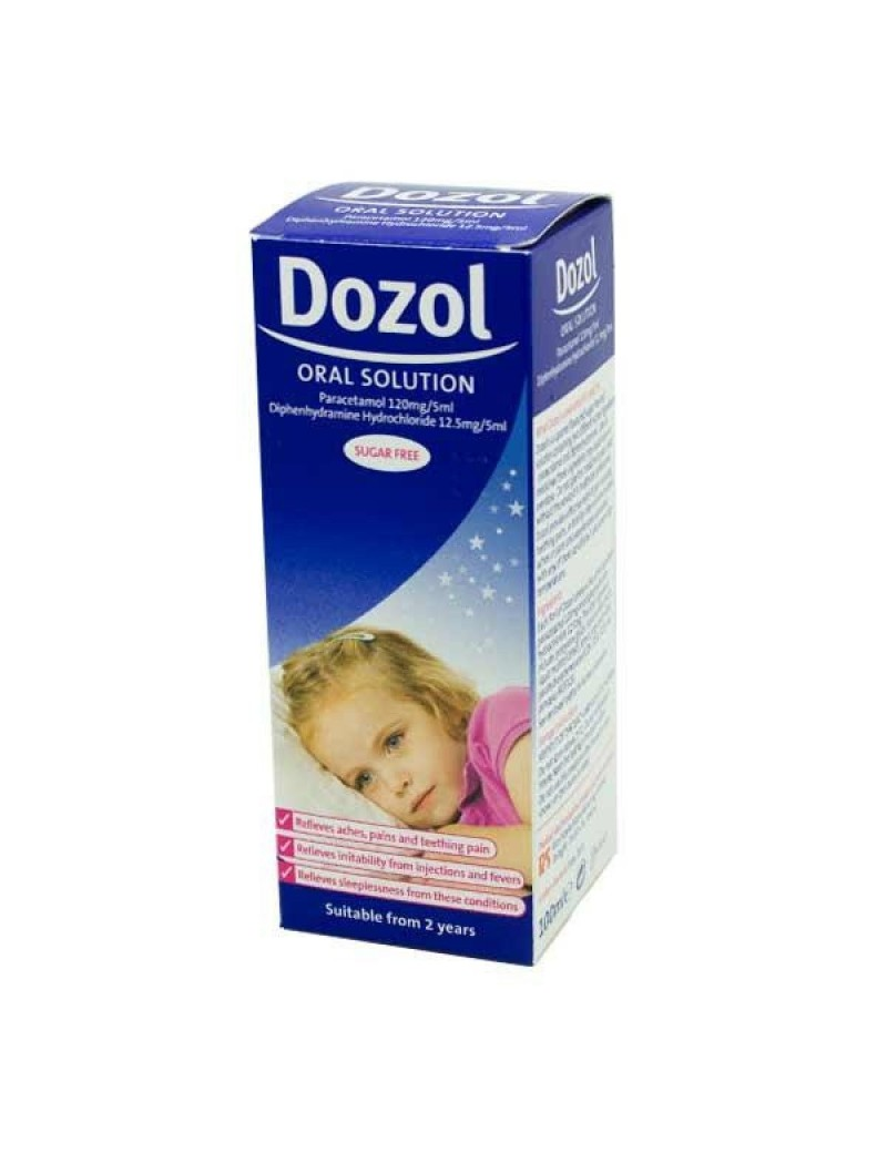 Dozol Teething Syrup