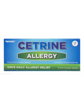Cetrine Allergy Tablets 10mg