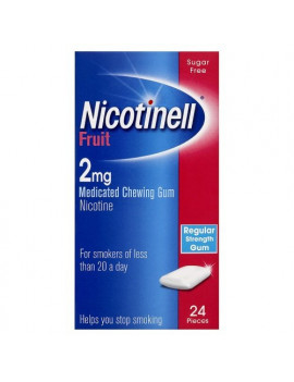 Nicotinell 2mg Fruit Gum