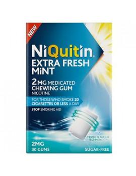 Niquitin 2mgs FreshMint Gum