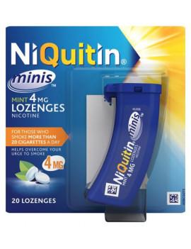 Niquitin Mini 4mg Lozenges