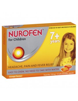 Nurofen for Children Soft Chews Orange 7+
