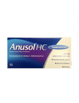 Anusol HC Supposties
