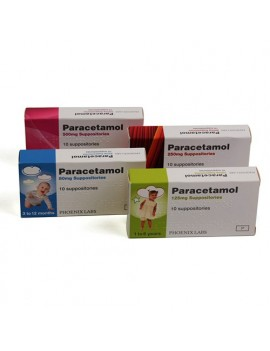 Paracetamol 125mg Suppositories