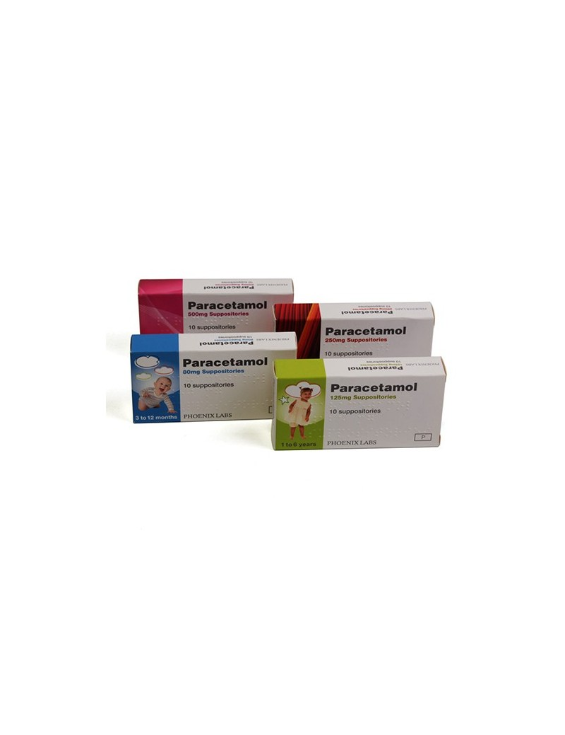 Paracetamol 125mg Suppositories
