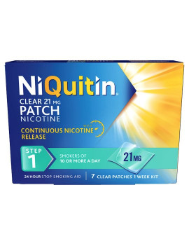 Niquitin CQ Clear 21mg