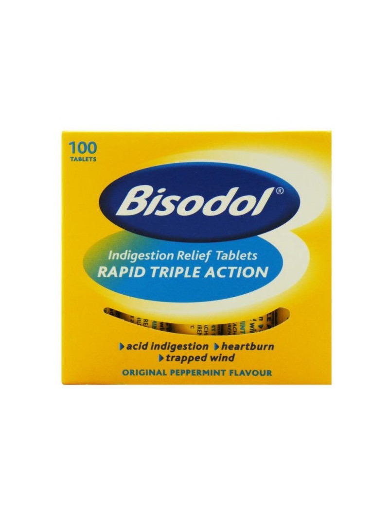 Bisodol Antacid Chewable Peppermint