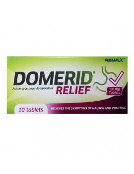 Domerid Relief 10mg Tablets