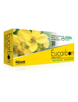 Eucarbon Herbal Laxative Tablets