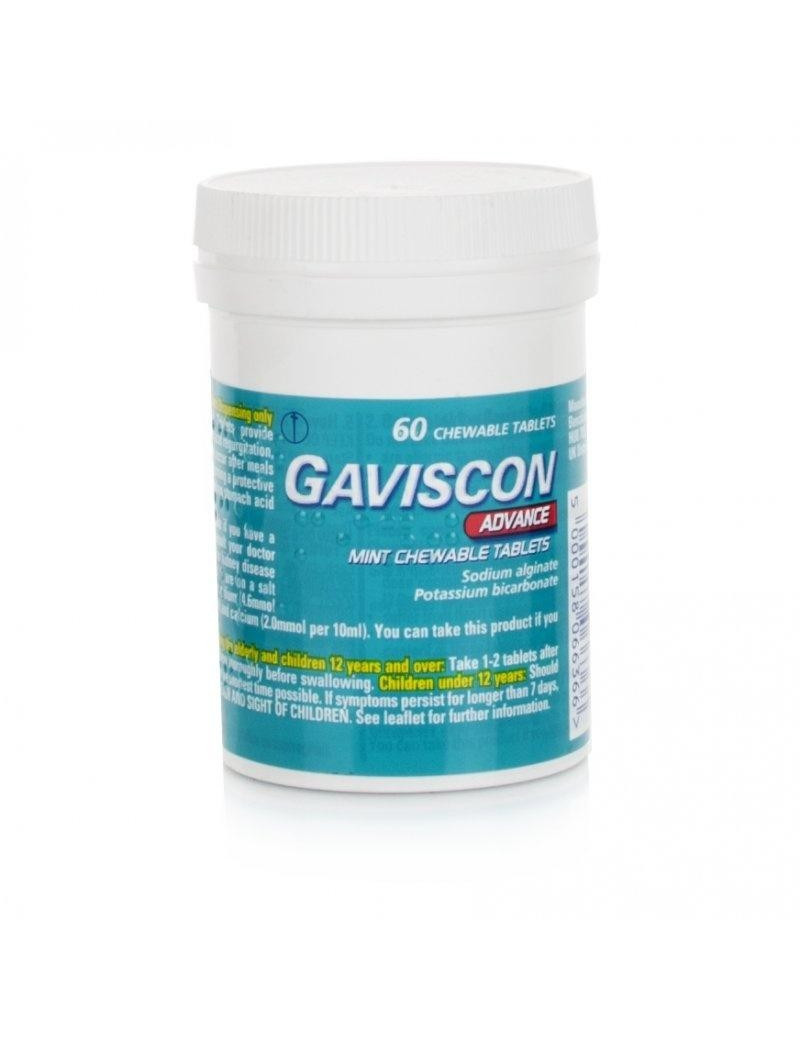 Gaviscon Advance Chewable Tablets
