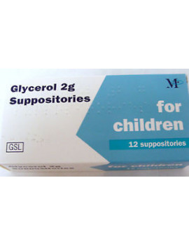 Glycerol 2mgs Children Suppositories