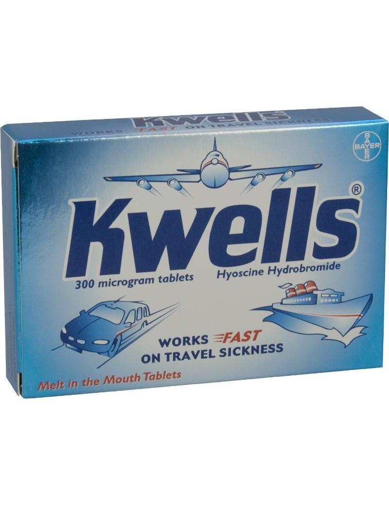 Kwells travel sickness Tablets
