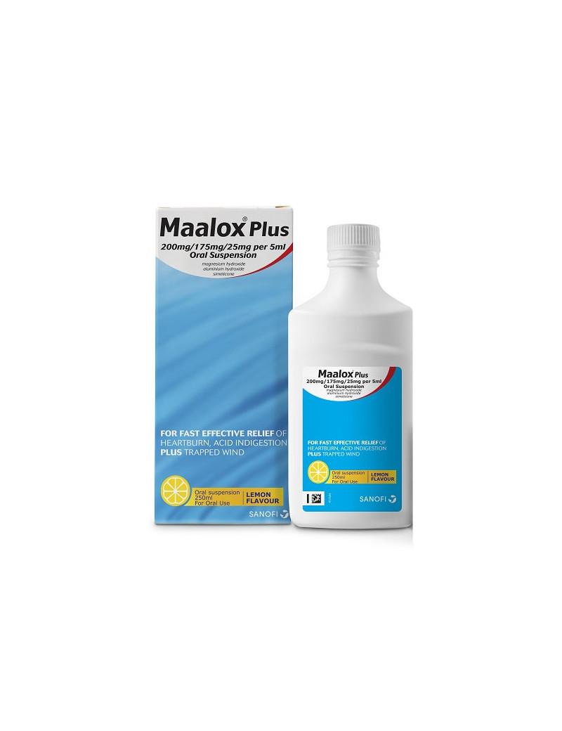 Maalox Liquid Lemon