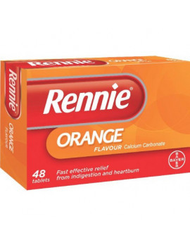 Rennie Orange Chewable