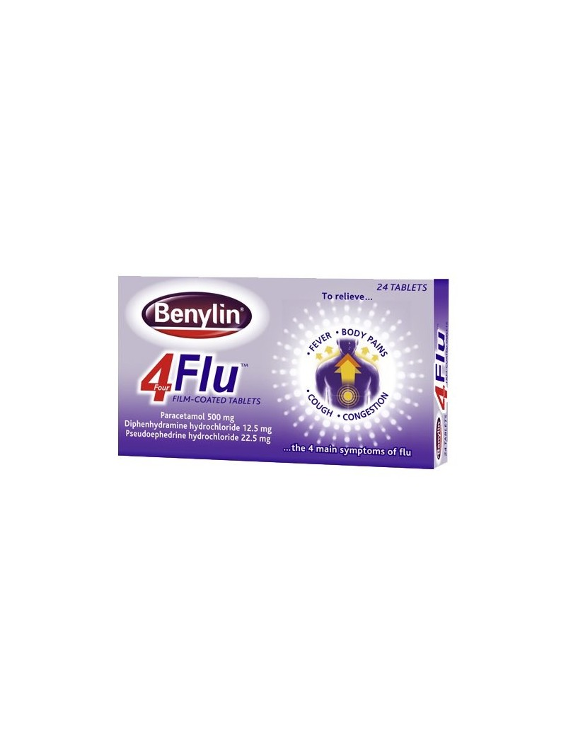 Benylin 4 Flu Tablets