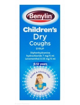 Benylin Childrens Dry Cough 6-12yrs