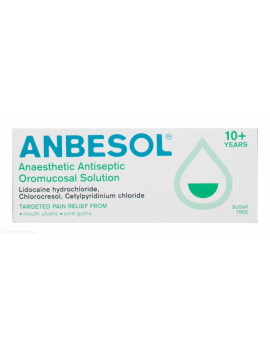 Anbesol Anaesthetic Antiseptic Solution