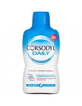 Corsodyl Daily Coolmint Alcohol Free