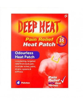 Deep Heat Pain Relief Patch
