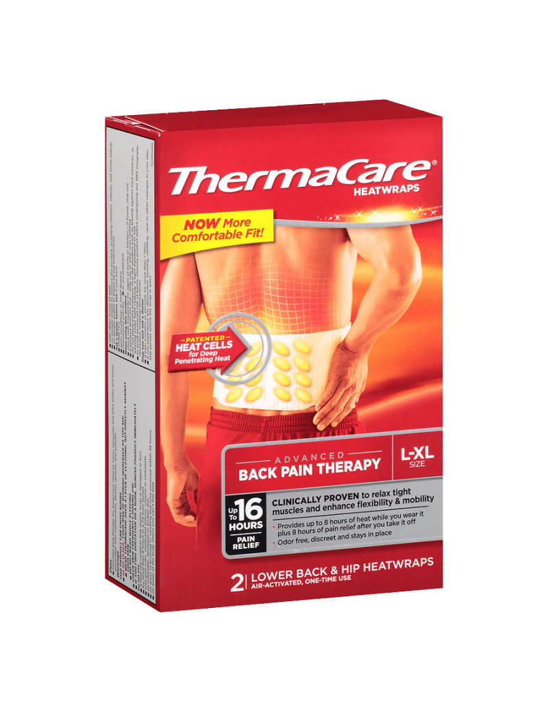 Thermacare Back Heatwraps