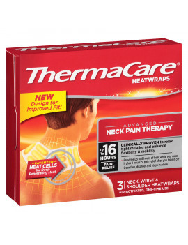 Thermacare Neck Shoulder & wrist Heat wrap