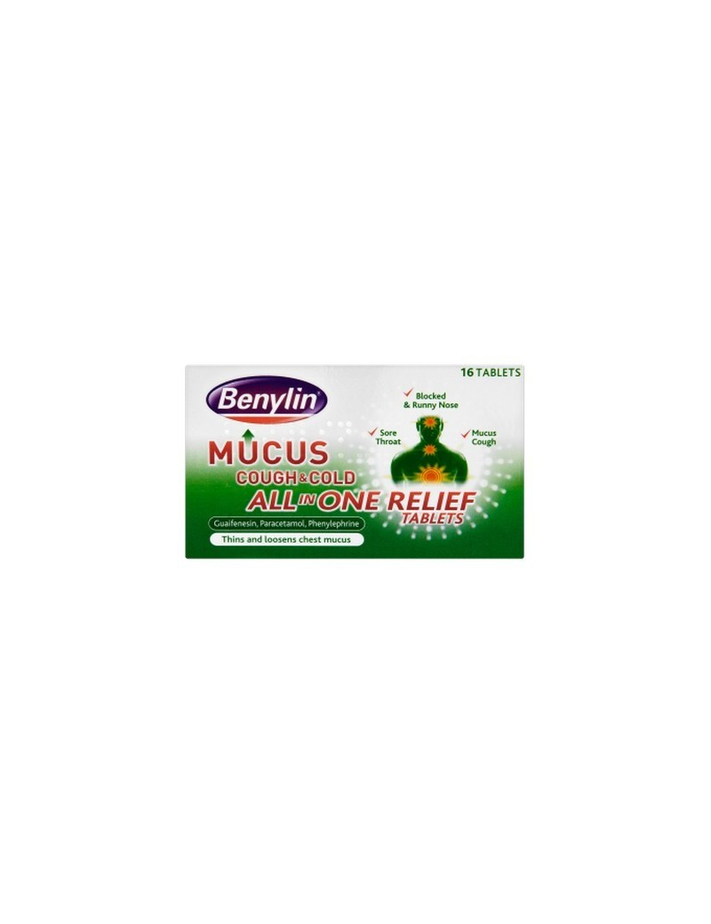 Benylin Phlegm Cough Multi Rel Tablets