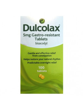 Dulcolax 5mgs Tablets