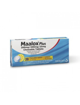 Maalox Plus Chewable Tablets