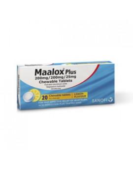 Maalox Plus Chewable Tablets