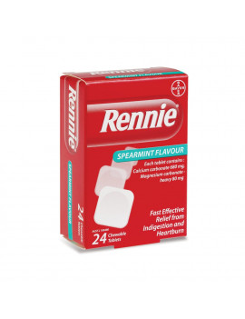 Rennie Spearmint Chewable