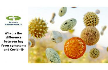 Hay fever vs Coronavirus